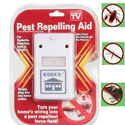 Riddex pest repelling Electronic Pest Rodent Control Repeller 110V~220V US Plug