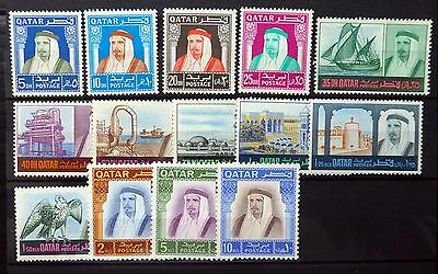 QATAR 1968 Definitives SG240-253 U/M NEW PRICE NB2539