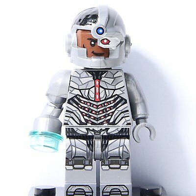 2017 Justice League 's Superheroes ~~ Cyborg ~~ Mini Figure Fits Lego