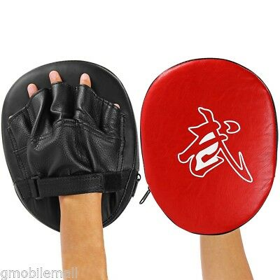 1x Punch Mitts Suitable for Boxing Kickboxing Boxercise MMA Karate Muay Thai Kic