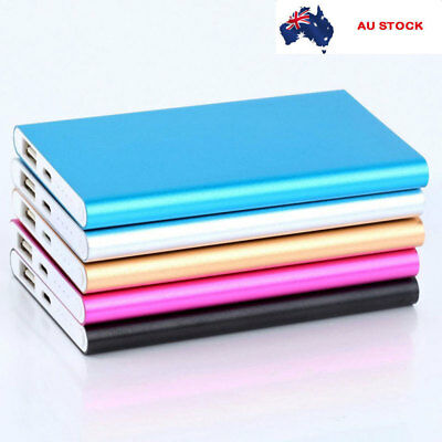 Thin Portable 12000mAh External Battery Charger Power Bank For IPhone Samsung HI