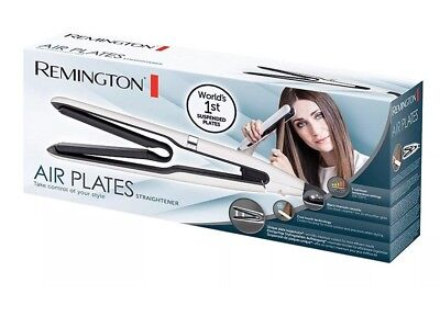 Remington S7412 Air Plates Ceramic Hair Straightener White Sealed  Worldwide📦