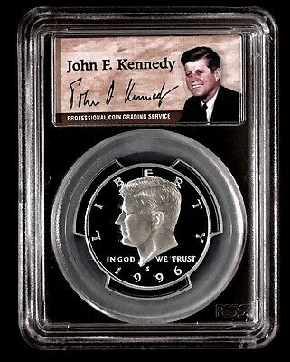 1996-S Silver Proof Kennedy Half PCGS PR-70 DCAM - Nice Eye Appeal - Guide: $155