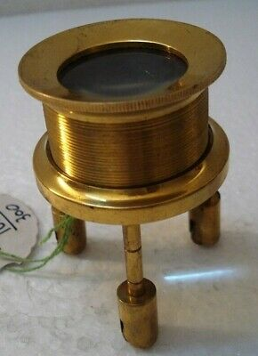 LARGE - Vintage Style Brass MAGNIFYING Glass – LARGE - RARE (1657)