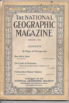 national geographic-FEB 1916-THE CRADLE OF CIVILIZATION.