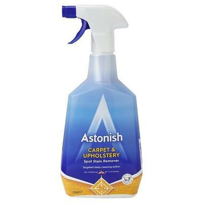 ASTONISH CAR CARE CARPET & UPHOLSTERY CLEANER  FREE FAST DELIVERY 750ml New