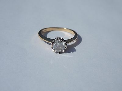 A very Fine 1 ct Diamond 18ct gold Solitaire ring