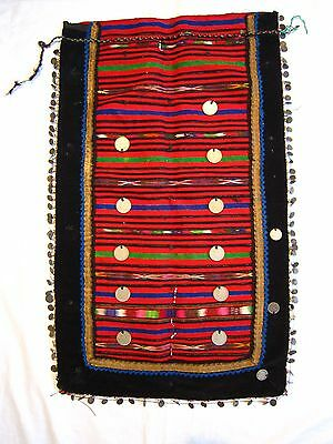 Apron Antique Dress Folk Costume Ottoman Silver Coins, Beads Gold Tinsel #museum