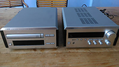 Yamaha Natural Sound Compact Disc Palyer + Stereo Receiver