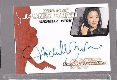 Michelle Yeoh as Wai Lin James Bond autograph WA17