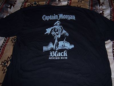Captian Morgan Black Spiced Rum Shirt Xl