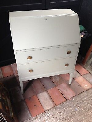 French Grey Writing Bureau