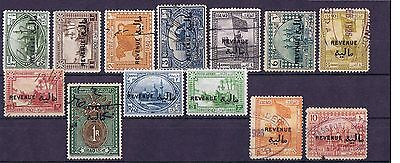 Iraq 1923 Revenue set, Used