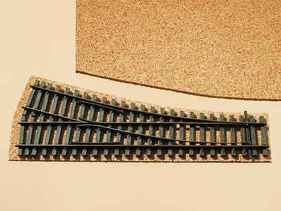 AUHAGEN 43580 TT, Cork Track Bed for Points, 20x30cm 1QM=