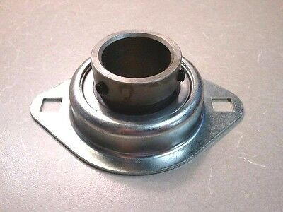 """New Lutco  1 1/4"""" Id Bearing In 2 Bolt Metal Flange  51Flmxzz80Pp / Lot Of 4"""