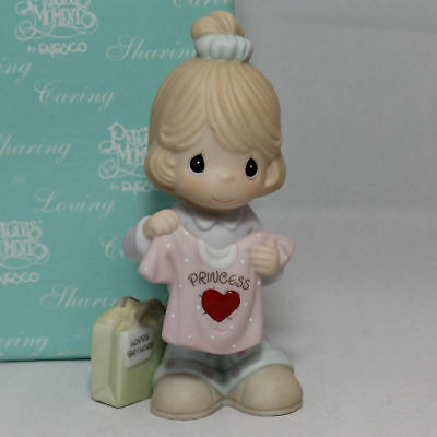 Precious Moments Figurine - Wishing You A Birthday Fit For A Princess, 108534 w/