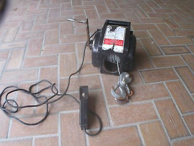 MVP 12V CAR BOAT WINCH WITH REMOTE  Model I-9600. USED, WORKS GREAT AUTOMOTIVE
