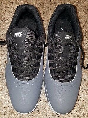 NEW Men's Nike Air Rival 4 Golf Shoes Grey/Black Size 9
