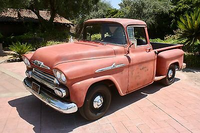 1958 Chevrolet Other Pickups Factory V8, Big Window, Daily Driver 1958 Chevrolet Apache Factory V8, Deluxe cab, Big Window Deluxe Cab