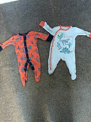 boys next babygrows up to 1 month