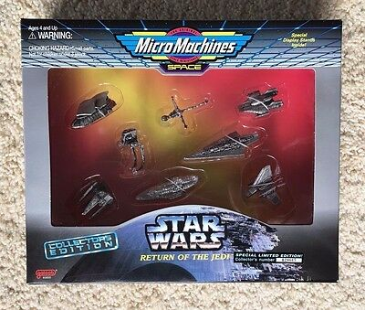 Star Wars Micro Machines Collectors Edition NEW Return of the Jedi Galoob 1995