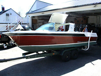 1964 18ft Century Sabre Open utility  wooden runabout