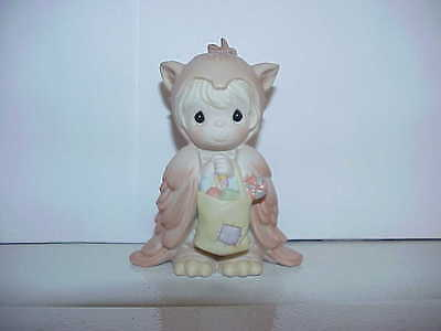 Precious Moments Figurine 104271 Owl Always Be There For You - Halloween