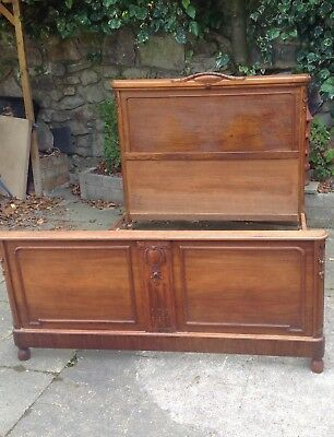Edwardian French Double Bed