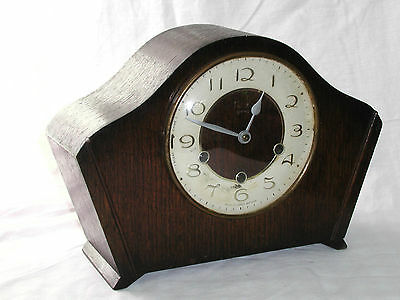 1950's Westminster chime mantle clock by Smiths