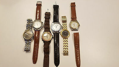 Watch Lot - Guess Citizen Timex Halsted Paul Sebastian Valentino Unisex Vintage