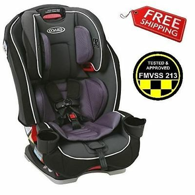 Graco Slim Fit Convertible Car Seat Baby Infant Toddler Safety Booster Annabelle