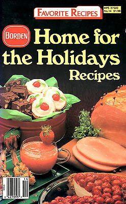 Home for the Holidays Recipes by Bordens  (1986, Paperback)