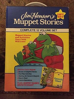 Jim Henson's Muppet Stories Complete 12 Volume Set Of 12 1991 Brand New In Box