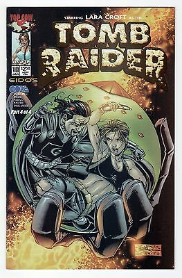 Tomb Raider #10 DF Exclusive Gold Foil Edition