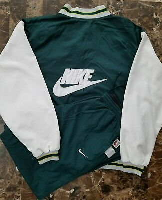 Nike Air Vintage Reversible 90s Track Suit sz 2XL XXL Varsity Jacket Pants