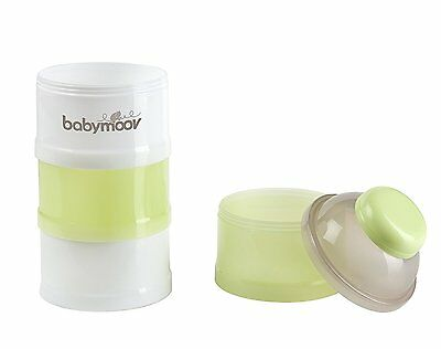 Babymoov Baby Formula Dispenser - 4 Stackable Compartments 4.5 oz Servings each