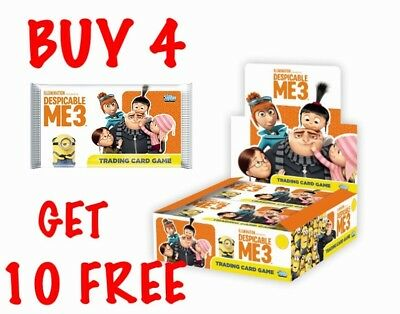 Topps Despicable Me 3 Single Trading Cards (2017) Buy 3 Get 6 Free