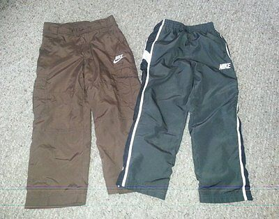 NIKE Lot of Brown and Gray Athletic Style pants Boys Size 5