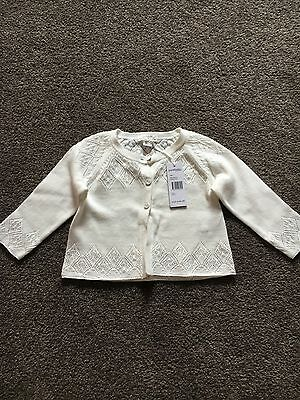 Pure Baby Cardigan Size 0