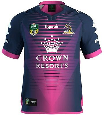 Melbourne Storm 2017 NRL Women in League Pink Jersey Mens and Ladies Sizes