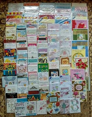 350 Wholesale Job Lot Mixed Greetings Cards Birthday Anniversary ect ect Joblot
