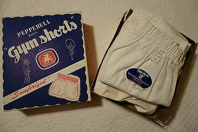 "VINTAGE BOX of 6 BOYS MENS ""YALE PEPPERELL"" GYM SHORTS, NOS, 1950s-60s"