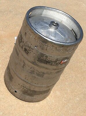 Beer Keg Slight Bends And Dents In Rim Areas {Free U.s. Shipping}