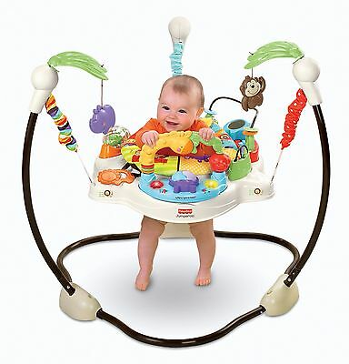 Fisher-Price Luv U Zoo Jumperoo baby bouncer activity centre