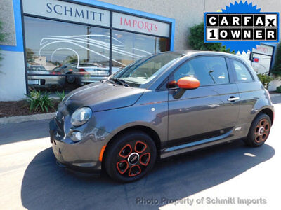 2014 Fiat 500 2dr Hatchback BATTERY ELECTRIC 2014 Fiat 500e, Fully Electric 1 Owner, 18k Miles, Sport Pkg, Sun Roof!