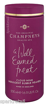 Champneys Spa A Well Earned Treat CLOUD NINE Indulgent BUBBLE HEAVEN Foam 500ml