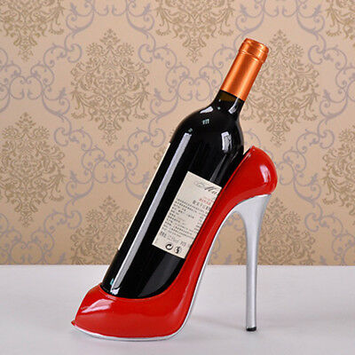 High Heel Shoe Wine Bottle Holder Wine Rack Home Stylish Decoration Ornaments