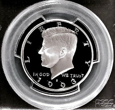 1993-S Silver Proof Kennedy Half PCGS PR-70 DCAM - Excellent Eye Appeal