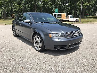 2004 Audi S4 QUATTRO 2004 AUDI S4 QUATTRO 4.2L - WELL MAINTAINED - VERY GOOD CONDITION - NO RESERVE