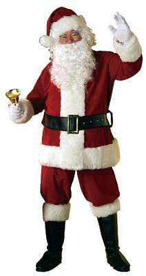 (TG. xl) Rubie's 7509 Costume Babbo Natale Velluto - NUOVO
